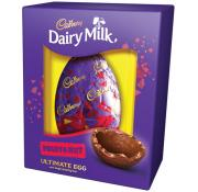 Cadbury Dairy Milk Fruit and Nut Luxury Shell Easter Egg