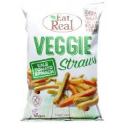 Eat Real Veggie Straws Kale Tomato and Spinach