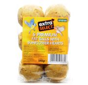 Extra Select Premium Fat Balls with Sunflower Hearts