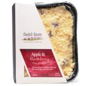 Field Fare Apple and Blackberry Crumble