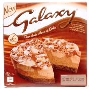 Galaxy Chocolate Mousse Cake