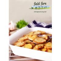 Garlic and Thyme Sliced Roast Potatoes image