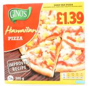 Ginos Hawaiian Pizza