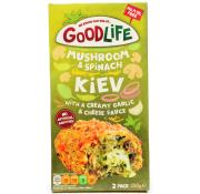 Goodlife Mushroom and Spinach Kiev