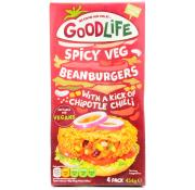 Goodlife Spicy Vegetable Bean Burgers