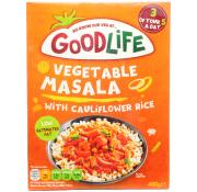Goodlife Vegetable Masala with Cauliflower Rice