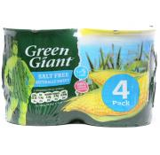 Green Giant Naturally Sweet Sweetcorn Salt Free