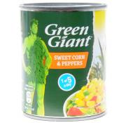 Green Giant Sweetcorn and Peppers