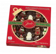 Hamlet Praline Filled Milk Chocolate Winter Assortment in Bauble Window Box