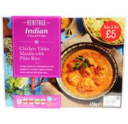 Heritage Chicken Tikka Masala And Pilau Rice