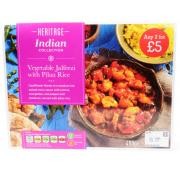 Heritage Vegetable Jalfrezi and Rice