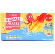 Heritage Rocket Lollies