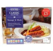 Heritage Sausage and Mash