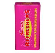 Swizzels Refreshers Tin of Strawberry Biscuits