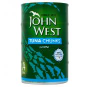 J West Tuna Chunks Brine