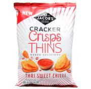 Jacobs Cracker Crisp Thins Thai Sweet Chilli