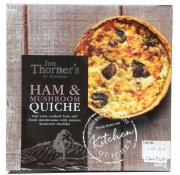 Jon Thorners Ham and Mushroom Quiche (Medium)