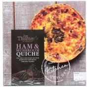 Jon Thorners Ham and Mushroom Quiche (Large)