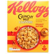 Kelloggs Crunchy Nut Clusters Peanut Butter