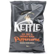 Kettle Chips Sea Salt and Crushed Black Peppercorns