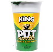 King Pot Noodle Chicken and Mushroom