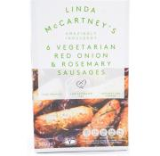 Linda Mccartneys 6 Vegetarian Red Onion and Rosemary Sausages