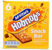 McVities Hobnob Snack Bar Milk Chocolate and Salted Caramel
