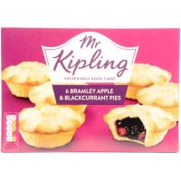 Mr Kipling Bramley Apple and Blackcurrant Pies image