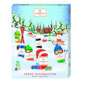 Neideregger Winter Classic Flavoured Marzipan Advent Calendar