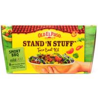 Old El Paso Stand n Stuff Smoky BBQ Soft Tacco image