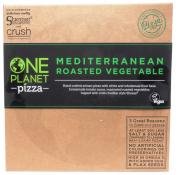 One Planet Vegan Mediterranean Vegetable Pizza