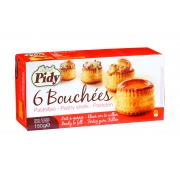 Pidy 6 Boucheese Large Vol-Au-Vent Cases