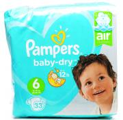 Pampers Baby-Dry XL 6