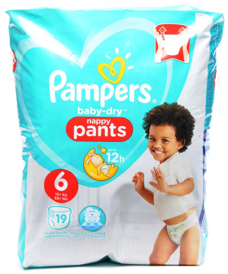 Dike Son Pampers Baby Dry Pants Size 6