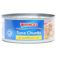 Princes Tuna Chunks In Sunflower Oil image