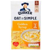 Quaker Oat So Simple Golden Syrup
