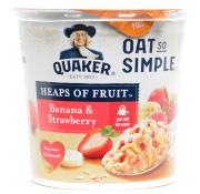 Quaker Heaps of Fruit Banana and Strawberry