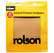 Rolson Sandpaper Sheets