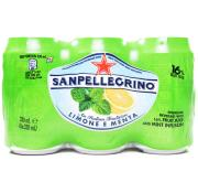 San Pellegrino Limone E Menta (Fruit Juice and Mint Infusion)