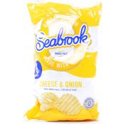 Seabrook Cheese and Onion Crinkle Cut Crisps