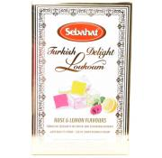 Sebahat Rose and Lemon Turkish Delight
