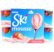 Nestle Ski Mousse Strawberry