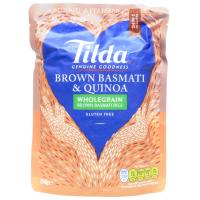 Tilda Brown Basmati and Quinoa Steamed Rice image