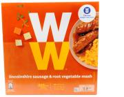 Weight Watchers Lincolnshire Sausage and Root Vegetable Mash