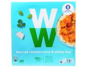 Weight Watchers Thai Red Chicken Curry and Sticky Rice