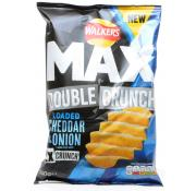 Walkers Max Double Crunch Moreish Cheddar Cheese