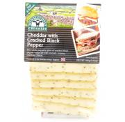 Wensleydale Creamery Cheddar Slices With Black Pepper