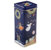 Farmhouse Biscuits Christmas Carol Tin with Spiced Orange Biscuits