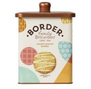 Border Luxury Biscuit Selection in Barrel Tin