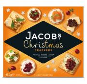 Jacobs Christmas Cracker Biscuit Selection
